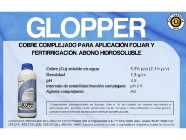 Fertilizante Arvensis Glopper