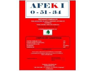 Fertilizante Afol Afek I 0-51-34