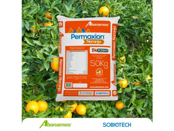 Fertilizante Mineral Orgánico Permaxion Naranja Producc