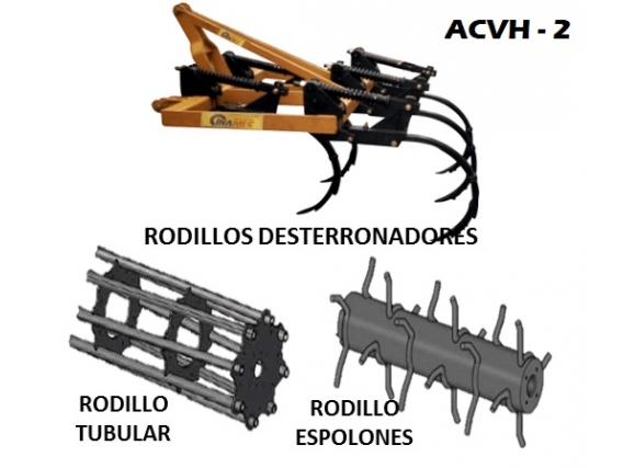 Arado de Cincel Vibratorio Horizontal INAMEC ACVH - 2