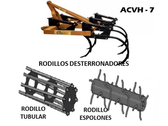 Arado de Cincel Vibratorio Horizontal INAMEC ACVH - 7