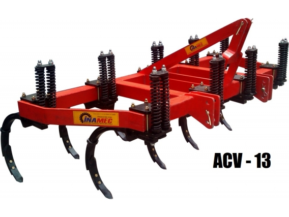 Arado de Cincel Vibratorio Vertical INAMEC ACV - 13