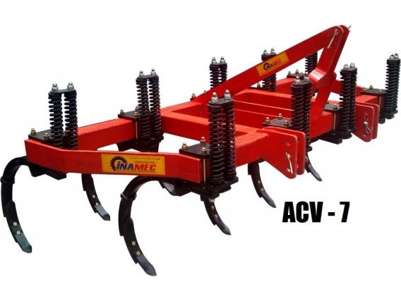 Arado de Cincel Vibratorio Vertical INAMEC ACV - 7