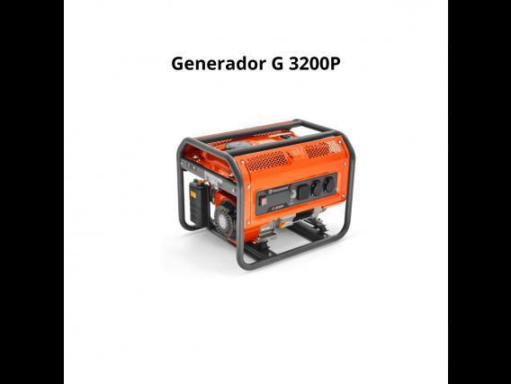 Generador Husqvarna gasolina 3200