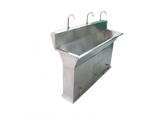 Lavamanos 3 puestos pedal sencillo Talsa
