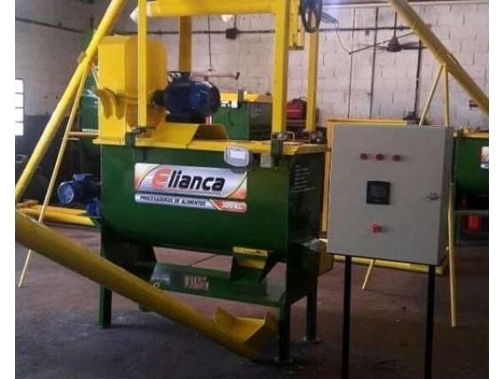 Planta Procesadora De Alimento Elianca 300Kg Eléctrica