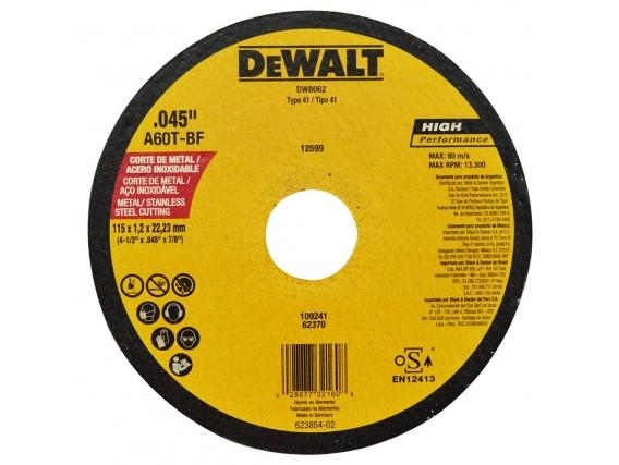 Repuesto para amoladora DeWalt