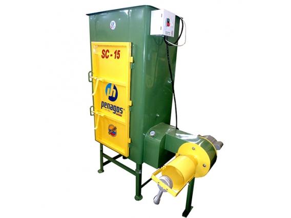 Secadora de café tipo silo a gas Penagos SC-15