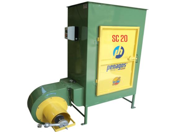 Secadora de café tipo silo a gas Penagos SC-20
