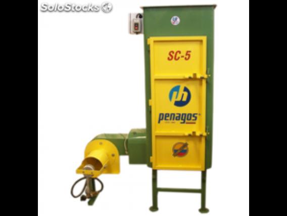 Secadora de café tipo silo a gas Penagos SC-7,5
