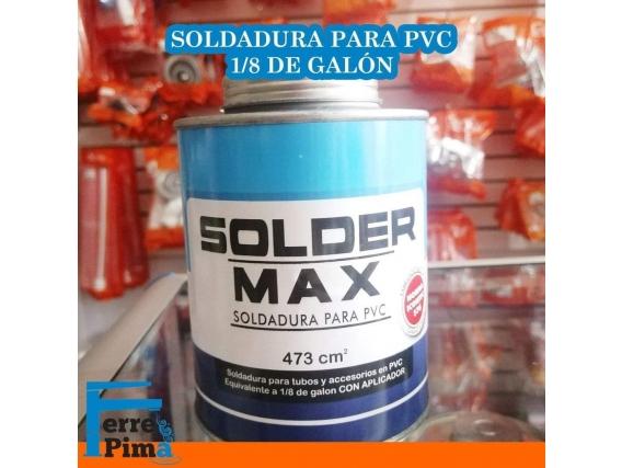Soldadura Solder MAX para PVC 1.8 de galon