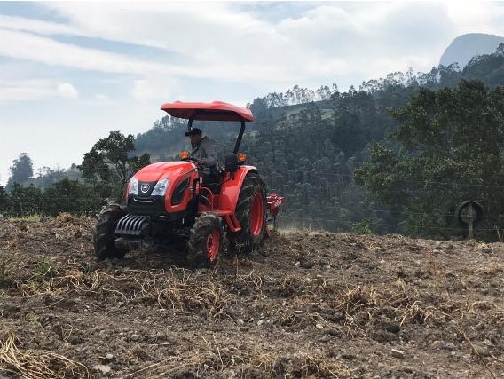 Tractor Kioti Dk 5510 55 Hp