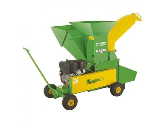 Triturador De Residuos Organicos Trapp Con Motor a Gasolina