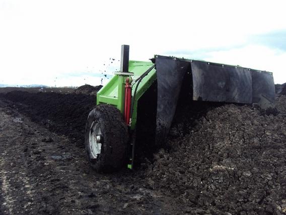 Volteadora de compost Agraris 2,20