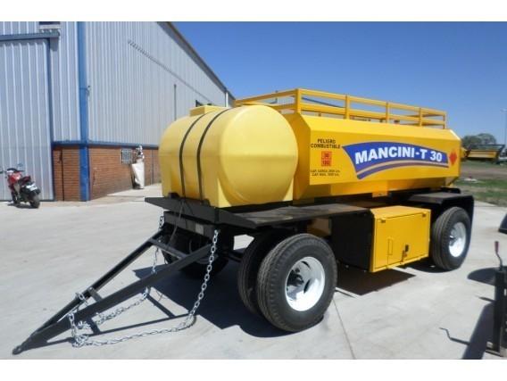 Acoplado Tanque De 3000 Litros Combinado Mancini T 30 C
