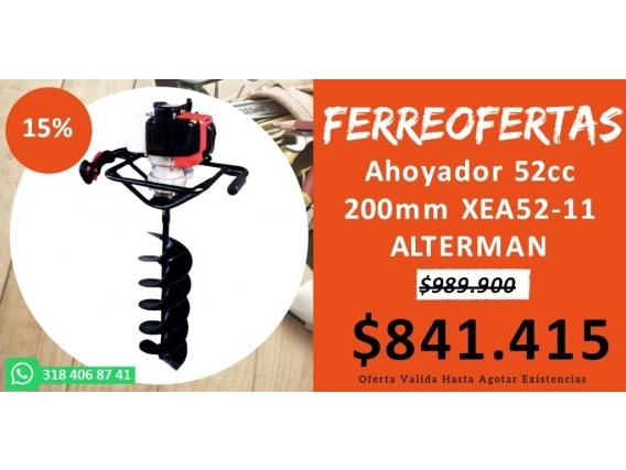Ahoyador 52Cc 200Mm Xea52-11Alterman