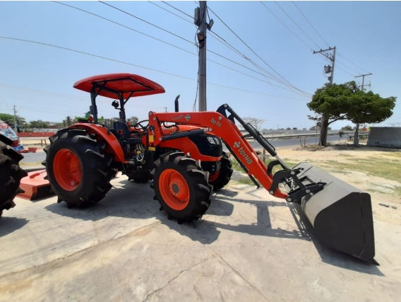 Cargador Frontal Tenias Para Tractor Modelo L4400