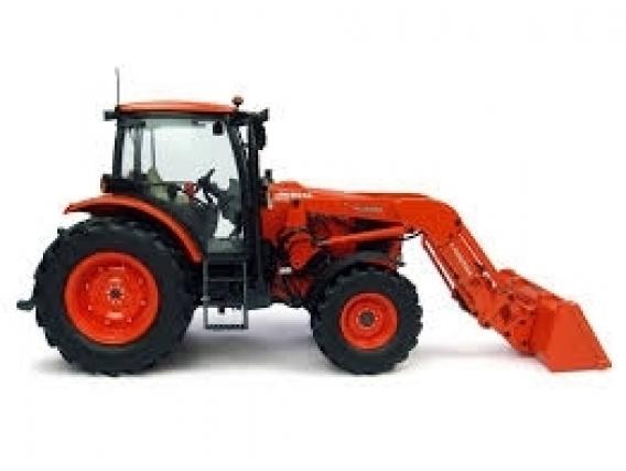 Cargador Frontal Tenias Para Tractor Modelo M7040