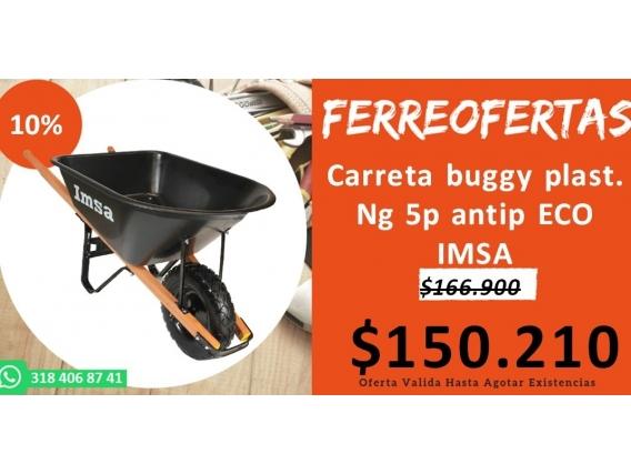 Carreta Buggy Plast. Ng 5P Antip Eco Imsa