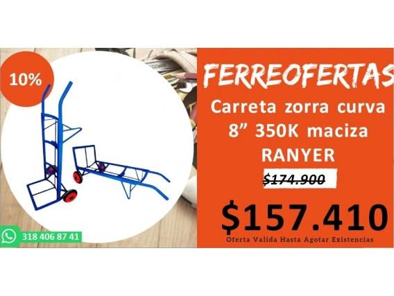 Carreta Zorra Curva 8 350K Maciza Ranger