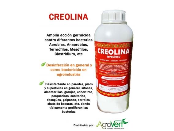Desinfectante Fenólico Concentrado Creolina