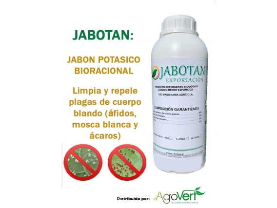 Detergente Biológico Jabotan