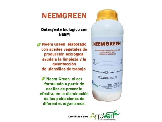 Detergente Biológico Neem Green