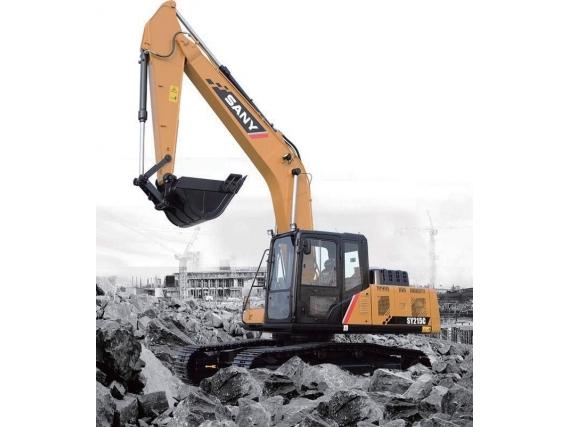 Excavadora Sany Sobre Orugas SY215C