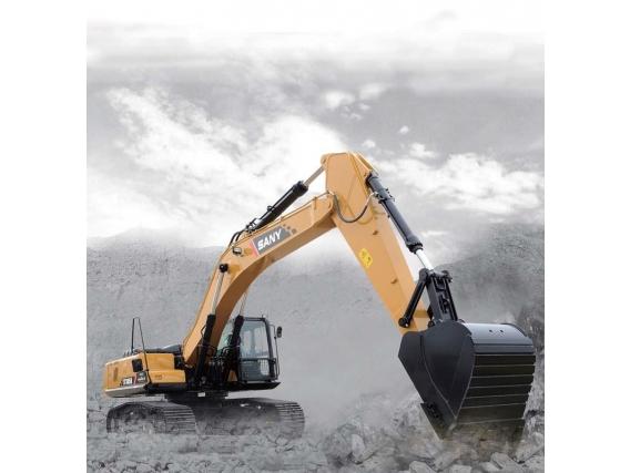 Excavadora Sany Sobre Orugas SY365H