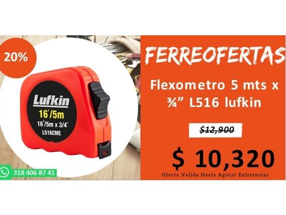 Flexometro 5 Mts X L516 Lufkin