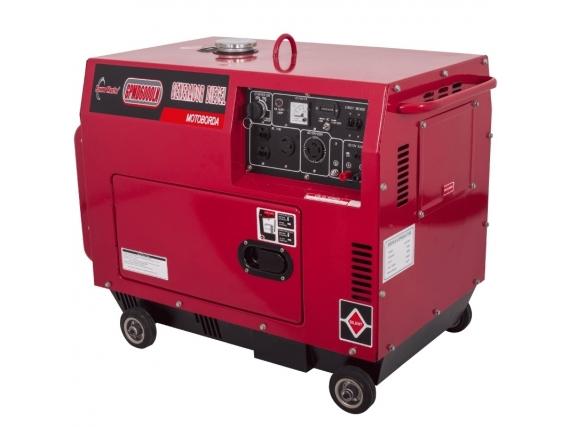 Generador A Diesel Cabinado Power Master Gpmd6000Ln