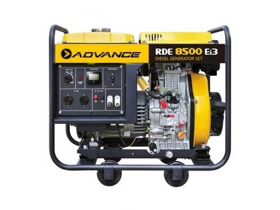 Generador De Energía Advance Rde8500Ei3 Diesel