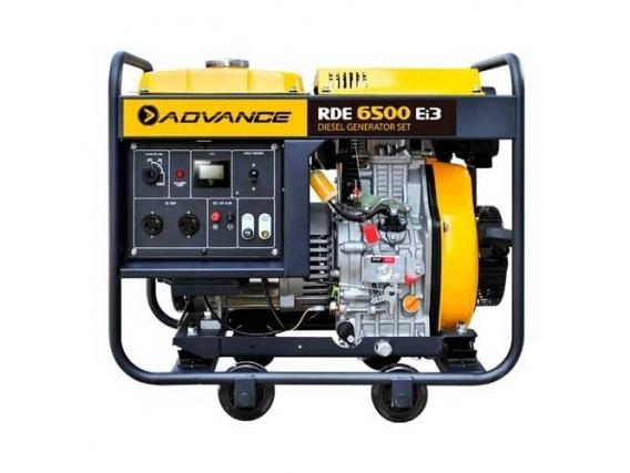 Generador De Energía Advance Rde6500Ei3 Diesel