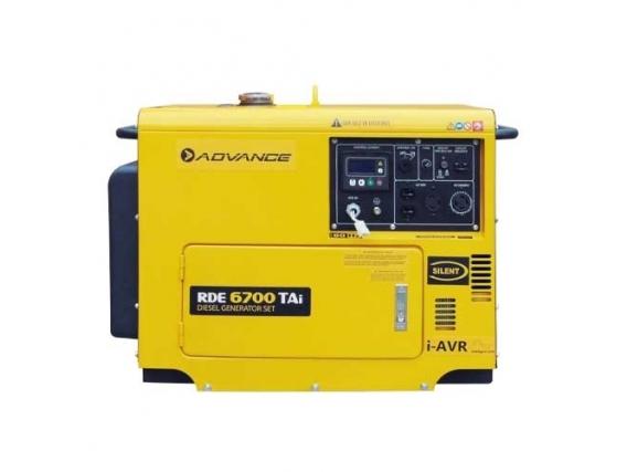 Generador De Energía Advance Rde6700Tai Diesel