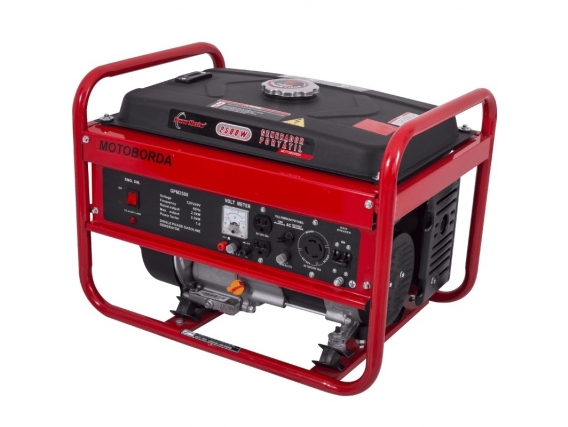 Generador Eléctrico A Gasolina Power Master 2.5 Kw