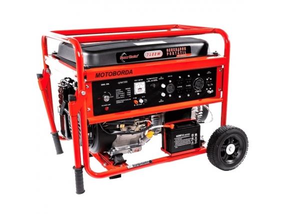 Generador Electrico A Gasolina Power Master 6.5 Kw
