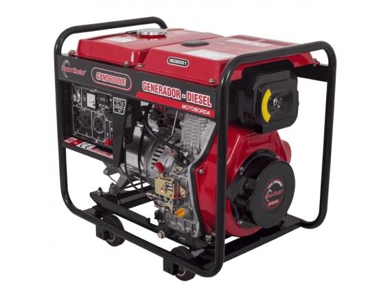 Generador Electrico Diesel Power Master Gpmd6000Le
