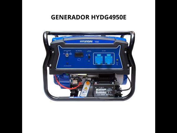 Generador Hyundai Hydg4950E