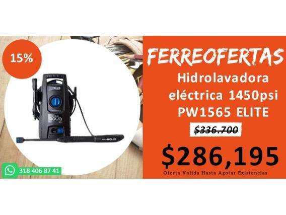 Hidrolavadora Eléctrica 1450Psi Pw1565 Elite