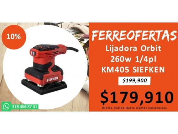 Lijadora Orbit 260W 1/4Pl Km405 Siefken
