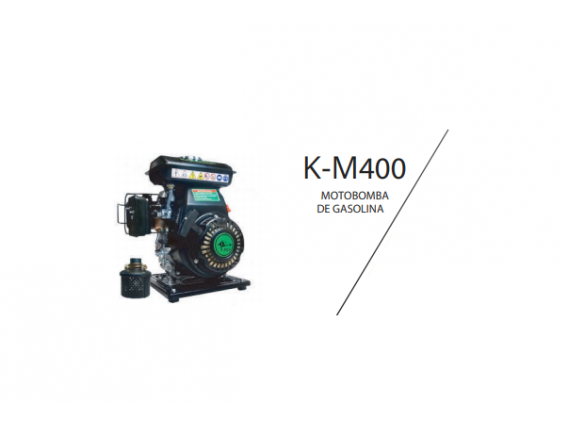 Motobomba Kapotha Km-400