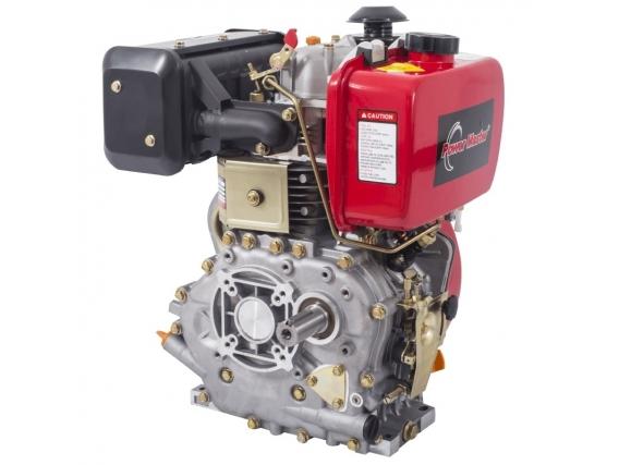 Motor Diésel Power Master Eje Cuña 10 Hp Mpmd186Fs