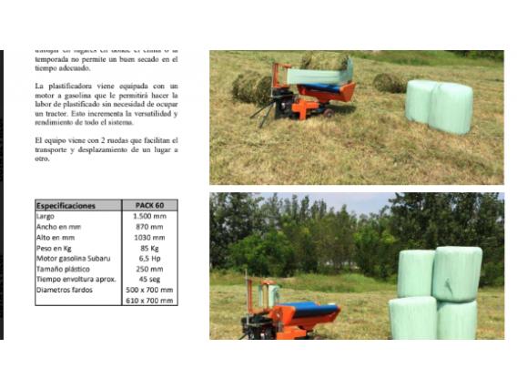 Plastificadora Ideagro Pack 60