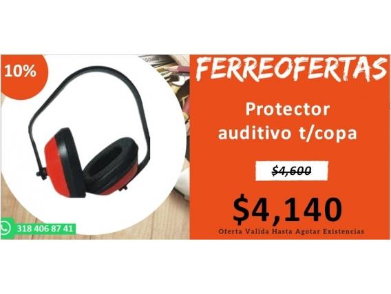 Protector Auditivo T/copa