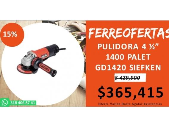 Pulidora 4 1400 Palet Gd1420 Siefken
