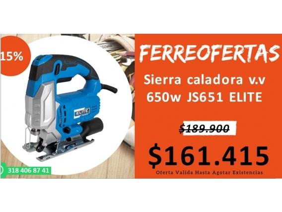 Sierra Caladora V.v 650W Js651 Elite