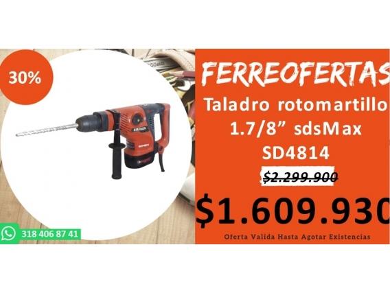 Taladro Rotomartillo 1.7/8 Sdsmax Sd4814