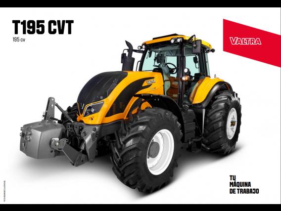 Tractor Valtra T195 CVT
