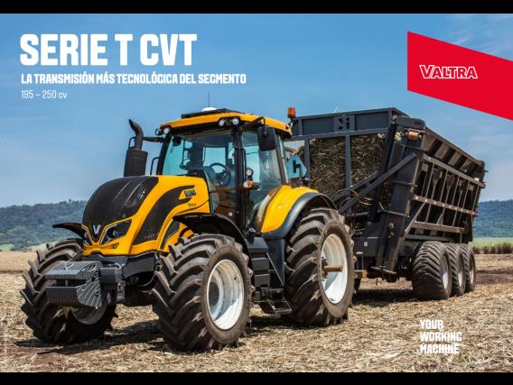 Tractor Valtra T230 CVT