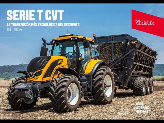 Tractor Valtra T250 CVT
